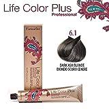 FarmaVita Life Color Plus Haarfarbe 100ml 6.1 Dunkelblond Asch