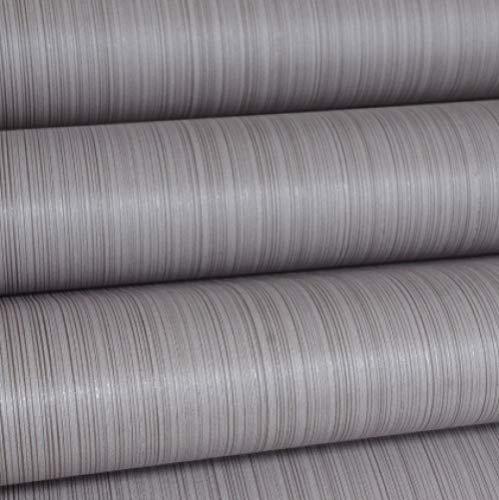 Hintergrundbild Einfarbig dunkelgrau vertikale Streifen PVC arbeitet einfarbig Tapete Bekleidungsgeschäft Hotel Dekoration Tapete-A_15MX53CM