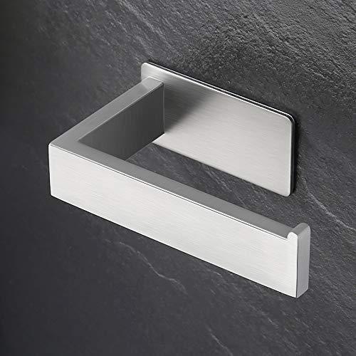 Eono von Amazon Toilettenpapierhalter Ohne Bohren Klopapierhalter WC Rollenhalter Edelstahl SUS304 Klorollenhalter Klopapier Halterung Selbstklebend Halter Toiletten Gebürstet, A23571DM-2