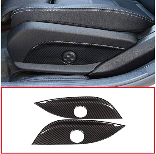 Tianrui Corona de fibra de carbono para asiento de coche, panel de ajuste para Mercedes Benz GLC/CLS