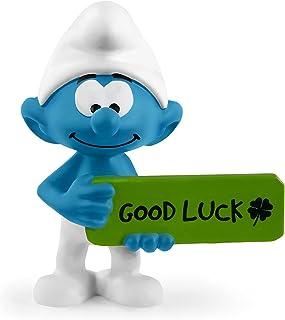 SCHLEICH Smurfs Good Luck Smurf Figurine