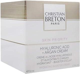 Christian Breton Paris Unisex Skin Priority Hyaluronic Acid + Argan Cream - 50 ml