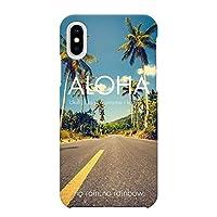 iPhoneXR ハード ケース カバー ハワイアンモデル F ブレインズ ハワイアン ハワイ HAWAII 海