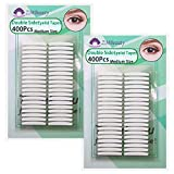 2 Packs Invisible Double-Side Eyelid Tapes Stickers, Adhesive Eyelid Strips, Instant Eye Lift