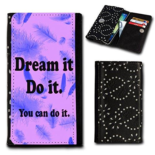Book Style Flip Handy Tasche Case Schutz Hülle Foto Schale Motiv Etui für ZTE Blade A452 - Flip SU5 Design12