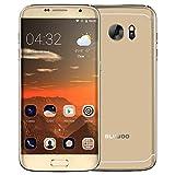 bluboo edge smartphone 4g android 6.0 (5.5''hd auo ogs schermo 1280 * 720p, mtk6737 quad-core 1.3 ghz 16 gb + 2gb, fotocamera 13mp+8mp, fingerprint id, 2600mah)