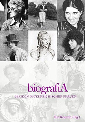 biografiA: Lexikon österreichischer Frauen