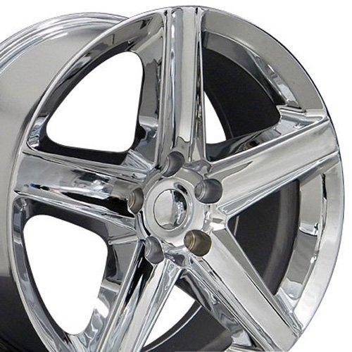 20x9 Wheels Fit Jeep, Dodge, Chrysler SUV's - Jeep Grand Cherokee Style Chrome Rims - SET