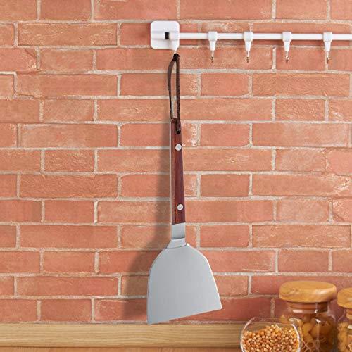 Omabeta Barbecue Shovel Mirror Lichtbehandlung 22,5 * 9 * 0,18 cm / 8,9 * 3,5 * 0,1 Zoll für die Wohnküche