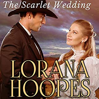 The Scarlet Wedding: A Christian Historical Western Romance  cover art