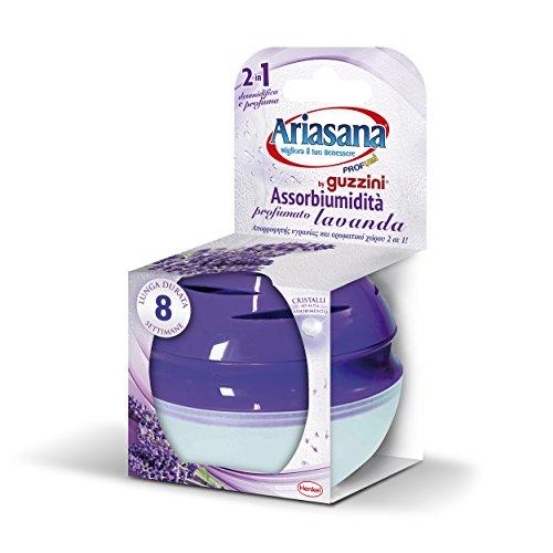 Ariasana 1069050 Assorbiumidità piccoli spazi, profumazione lavanda, 45g