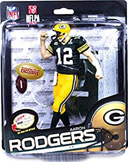 McFarlane Toys NFL Sports Picks Series 34 Collectors Club Exclusive Action Figure Aaron Rodgers (Green Bay Packers) Green Jersey