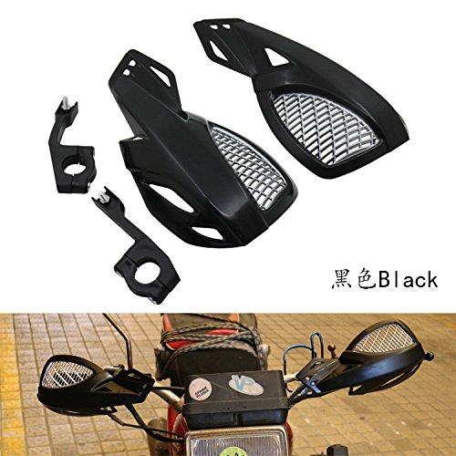 Protège-mains noirs pour moto 125 SX 150 XC 200 FZ1 FZR1000 FZR600R XT225 YZF R1 YZF R6 YZF600R 750R