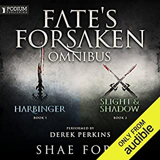 The Fate's Forsaken Omnibus     Books 1-2 and Prequel Novella              By:                                                                                                                                 Shae Ford                               Narrated by:                                                                                                                                 Derek Perkins                      Length: 37 hrs and 58 mins     67 ratings     Overall 4.6