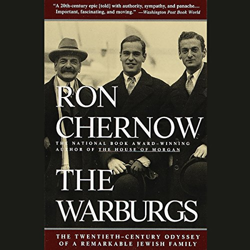 The Warburgs audiobook cover art