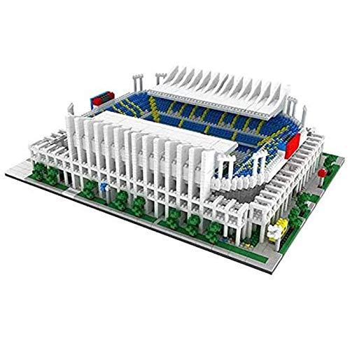 Bloques de construcción en miniatura campo de fútbol portugués, juguetes de construcción creativos en 3D, regalos para adultos de juguetes educativos de bricolaje para niños. 064,4685pcs
