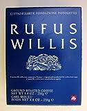 ILLY ART COLLECTION café Set par Rufus Willis - Lot de 2 tasses à café cappuccino