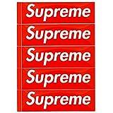 Supreme シュプリーム Box Logo Sticker 5P PACK SET ボックスロゴ ステッカー 5枚セット