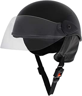 Sage Square Adjustable Kids Helmet for Baby Safety and Comfort (3-12 Years) (Black Glossy)