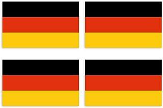 Kiwistar Aufkleber 4,5 x 2,7 cm Deutschland - Land Staat Aut