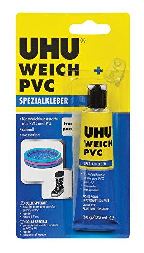 UHU 46655 Spezialkleber, weiche Kunststoffe, Tube mit 30 g