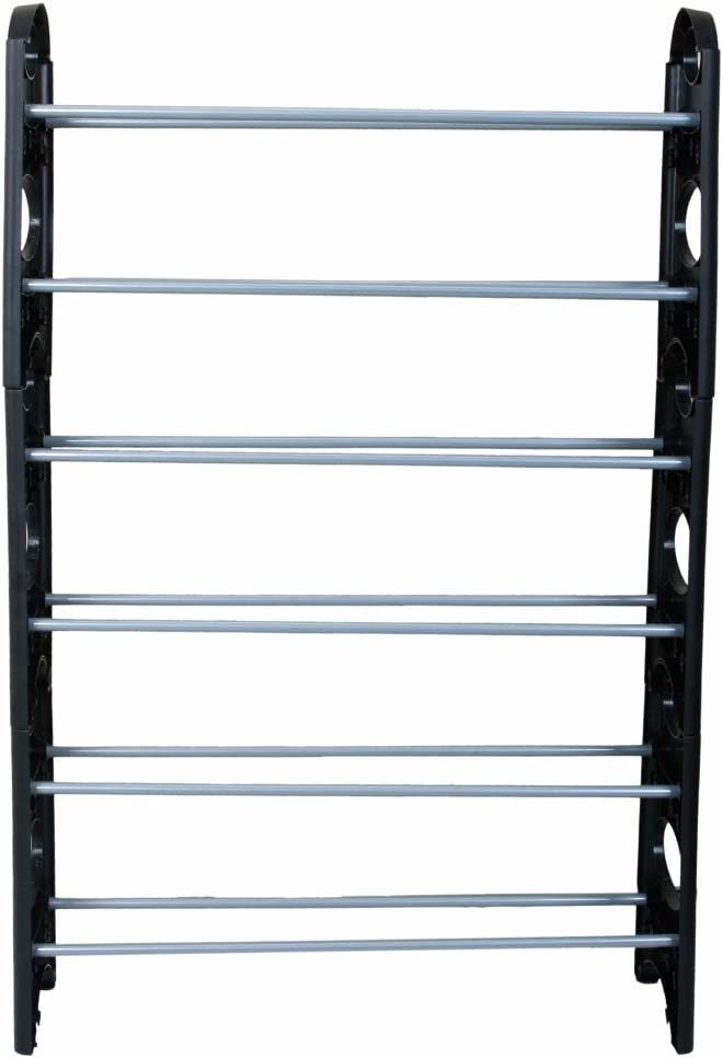Direct stock discount 6 Tiers Max 54% OFF Shoe Rack Storage Organizer Stainless 18-Pair