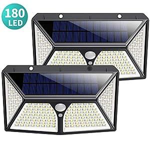 Solar 60LED Solar lámpara de pared solar lámpara exterior lámpara ...