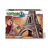 Wrebbit-la Torre Eiffel Puzzle 3D, Multicolor (W3D-2009)