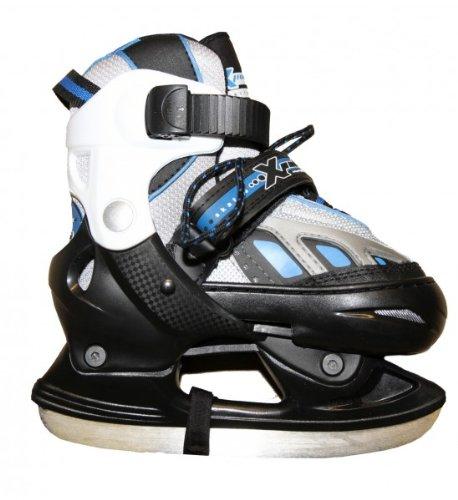 HUDORA Xpulse Schlittschuhe Ice Skates Blue/Black Profi Schlittschuhe Kids Ice Skates, Schuhgrösse:29-32