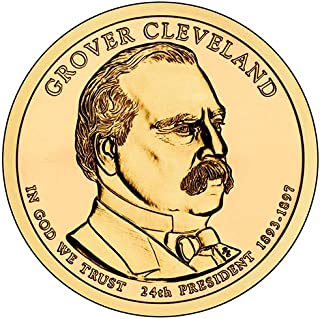 2012 S Proof Grover Cleveland Presidential Dollar 2nd Term Choice Uncirculated US Mint