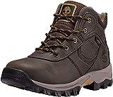 Timberland Youth Mt. Maddsen Mid Waterproof Hiking Boot, Dark Brown (3)