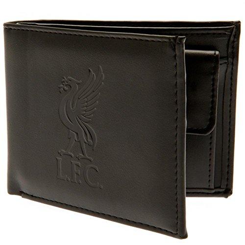 Liverpool Fußballverein offizielle Leder Geldbörse RFID Schutz Team Wappen Abzeichen