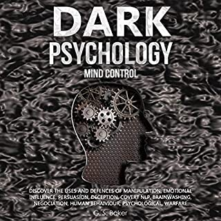 Dark Psychology Mind Control audiobook cover art