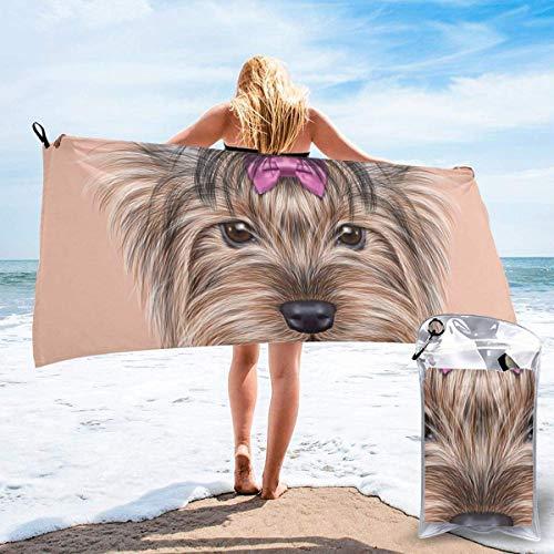 Hogar y cocina Baño Textiles de baño Toallas Toallas de playa Quick Dry Beach Towel Catrina Calavera Featured Ornaments Macabre Remember The Dead Theme Microfiber-Sand Free-Lightweight Thin Bath Towel