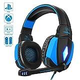 YINSAN PS4 Headset, Gaming Headset Kopfhörer für...