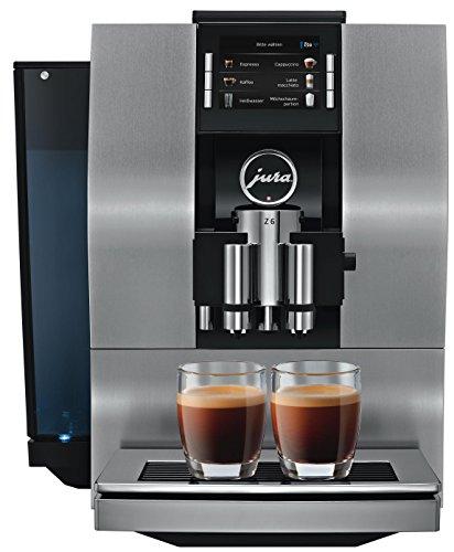Jura 15208 Z6 Kaffeevollautomat, Aluminium, Schwarz
