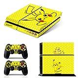 Ci-Yu-Online VINYL SKIN [PS4] Pokemon #3 Pikachu Yellow Whole Body...