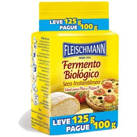 Now New color free shipping Fleischmann Yeast Dry 4.40oz Fermento par Pó em