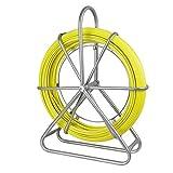 Brin Rigide D'Aiguillage/Tirage De Câble Fibre De Verre 8mm X 150 M