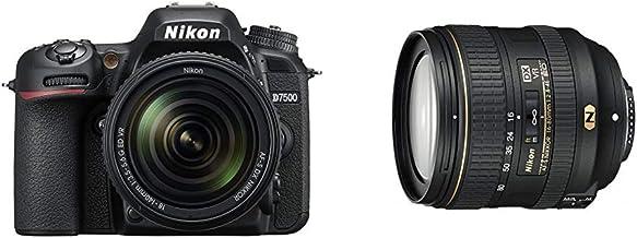 【セット買い】Nikon デジタル一眼レフカメラ D7500 18-140VR レンズキット D7500LK18-140 & 標準ズームレンズ AF-S DX NIKKOR 16-80mm f/2.8-4E ED VR