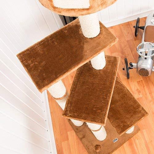 Das 3 Ebene Bontoy Katzenbaum / Höhenverstellbar - 3