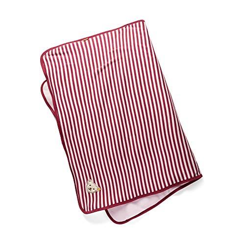 Steiff Baby - Mädchen Schlafsack , Rot (BEET RED 4010) , One Size (Herstellergröße:One Size)
