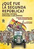 Qué fue la segunda república: Nuestra historia explicada a los jóvenes: 14 (La palabra ilustrada)