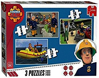 Fireman Sam My First Puzzle 3 in a Box Ages 3+