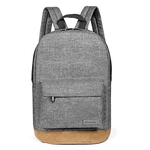 Advocator 14 Inch Laptop Backpack studenti di colore solido portatile Casual Chic classico ben imbottita scuola bookbags Zaino Zaini spalle Borse