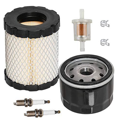 HIFROM Luftreiniger-Patronenfilter mit Kraftstofffilter Zündkerze Ölfilter Tune Up Kit Ersatz für 44M977 44P977 44Q977 49L977 44P000 Repalce 794935 492932 492056