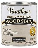 Varathane 262011 Premium Fast Dry Wood Stain, Quart, Sunbleached
