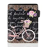 Shagwear - Monederos para Mujeres jóvenes diseños: (Paris Bicicleta/Paris Bike Blk)