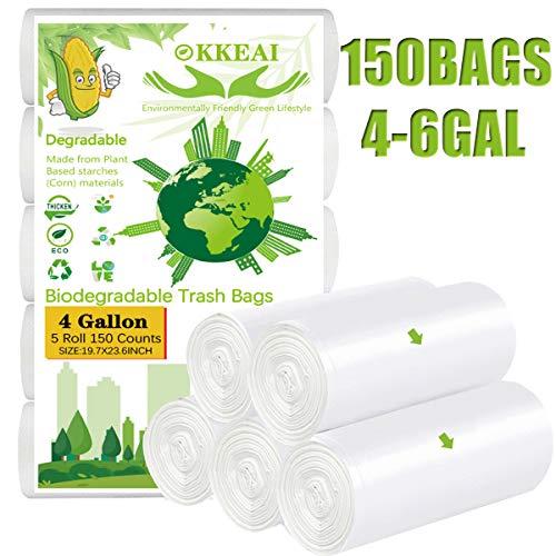 OKKEAI Wastebasket Liners,4,5 Ga...
