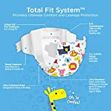 Comfees Premium Baby Diapers with Total Fit System for Boys & Girls, Size 5, 27Count